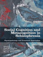 Social Cognition and Metacognition in Schizophrenia