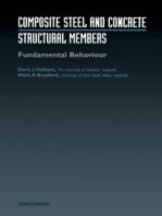Composite Steel and Concrete Structures: Fundamental Behaviour (Second Edition): Fundamental Behaviour