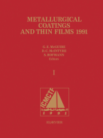 Metallurgical Coatings and Thin Films 1991