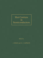 Hot Carriers in Semiconductors