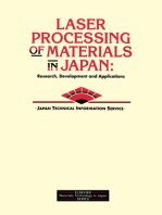 Laser Processing of Materials in Japan