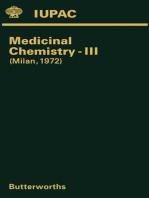 Medicinal Chemistry—III