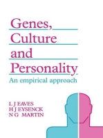 Genes, Culture, and Personality
