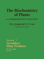 Secondary Plant Products