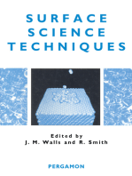 Surface Science Techniques