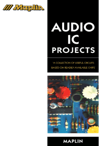 Audio IC Projects: A Collection of Useful Circuits Based on Readily Available Chips
