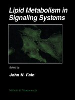 Lipid Metabolism in Signaling Systems