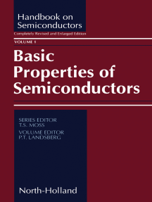 Basic Properties of Semiconductors