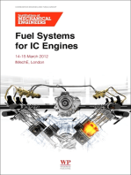 Fuel Systems for IC Engines