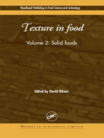 Texture in Food