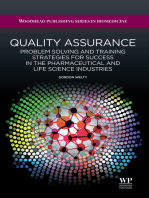 Quality Assurance: Problem Solving and Training Strategies for Success in the Pharmaceutical and Life Science Industries