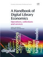 A Handbook of Digital Library Economics