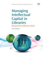Managing Intellectual Capital in Libraries