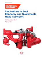 Innovations in Fuel Economy and Sustainable Road Transport