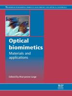 Optical Biomimetics: Materials and Applications