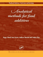Analytical Methods for Food Additives
