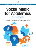 Social Media for Academics: A Practical Guide