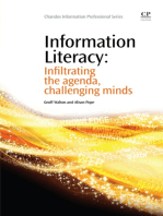 Information Literacy: Infiltrating the Agenda, Challenging Minds