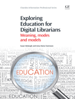Exploring Education for Digital Librarians