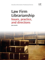 Law Firm Librarianship