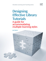 Designing Effective Library Tutorials