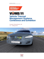 Vehicle Thermal Management Systems Conference Proceedings (VTMS11)