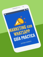 Marketing con WhatsApp. Guía práctica
