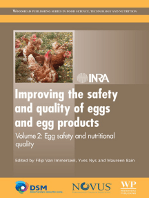 Improving the Safety and Quality of Eggs and Egg Products: Egg Safety and Nutritional Quality
