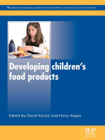 Developing Children's Food Products