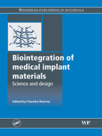 Biointegration of Medical Implant Materials
