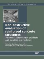 Non-Destructive Evaluation of Reinforced Concrete Structures: Deterioration Processes and Standard Test Methods