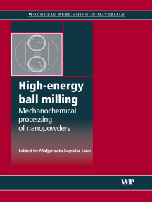 High-Energy Ball Milling: Mechanochemical Processing of Nanopowders