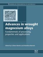Advances in Wrought Magnesium Alloys