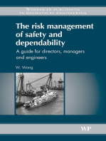 The Risk Management of Safety and Dependability: A Guide for Directors, Managers and Engineers