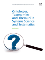 Ontologies, Taxonomies and Thesauri in Systems Science and Systematics