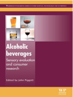 Alcoholic Beverages: Sensory Evaluation and Consumer Research