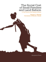 The Social Cost of Small Families & Land Reform: A Case Study of the Wataita of Kenya