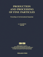 Production and Processing of Fine Particles