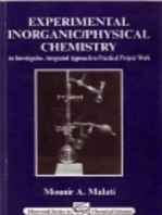Experimental Inorganic/Physical Chemistry: An Investigative, Integrated Approach to Practical Project Work