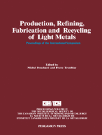 Production, Refining, Fabrication and Recycling of Light Metals