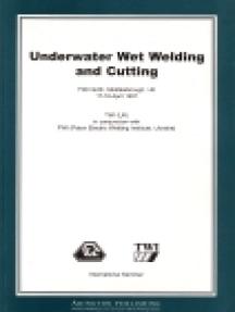 Underwater Wet Welding and Cutting
