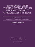 Dynamics and Thermodynamics in Hierarchically Organized Systems