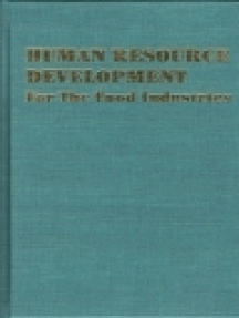 Human Resource Development: For the Food Industries