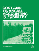 Cost and Financial Accounting in Forestry