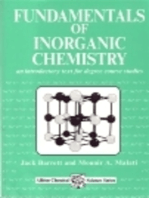 Fundamentals of Inorganic Chemistry