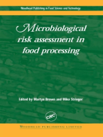 Microbiological Risk Assessment in Food Processing