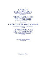Energy Terminology: A Multi-Lingual Glossary