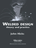 Welded Design: Theory and Practice
