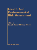 Health and Environmental Risk Assessment