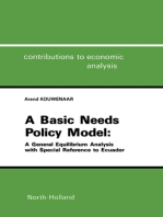 A Basic Needs Policy Model: A General Equilibrium Analysis with Special Reference to Ecuador